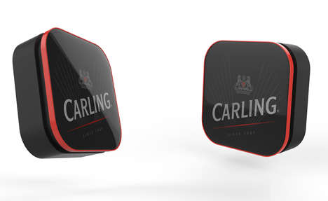 Beer-Ordering Buttons - Carling's New Button Allows Users to Instantly Replenish Their Beer Supply
