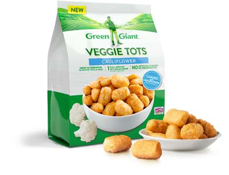 Remixed Frozen Vegetable Dishes - The New Green Giant Dishes Put a Healthy Twist on Familiar Foods