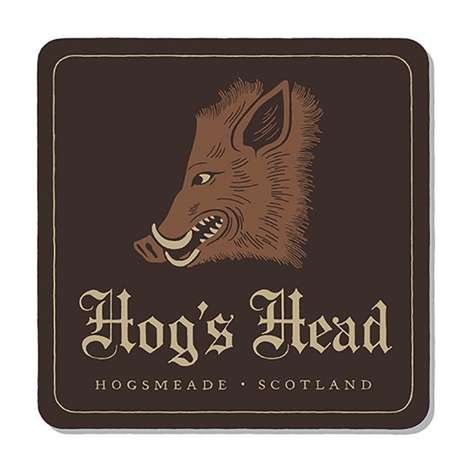 Fictional Bar Coaster Illustrations - Designer Tom Ward Created Coasters for Famous Movie Bars