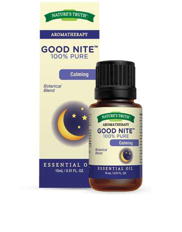 Sleep-Inducing Oils - The 'Good Nite' Calming Essential Oil Naturally Lulls Consumers to Slumber