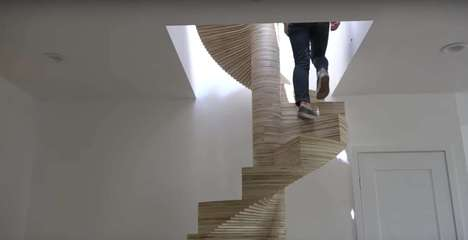 DIY Plywood Staircases - This DIY Staircase Project is Constructed from Plywood