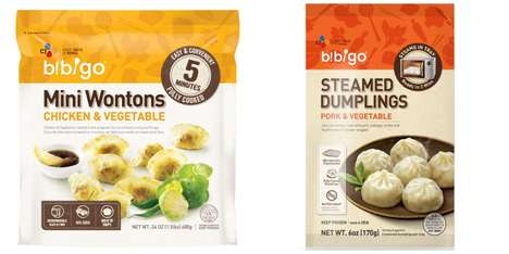 Microwavable Asian Dumplings - Bibigo's Fully Cooked Dumplings and Wontons Reduce Prep Time