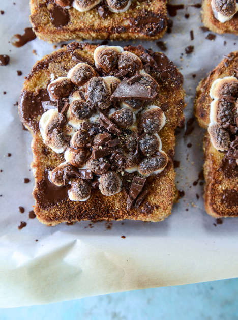 Campfire-Flavored Breakfasts - This S'mores French Toast Recipe is a Sweet Take on the Morning meal