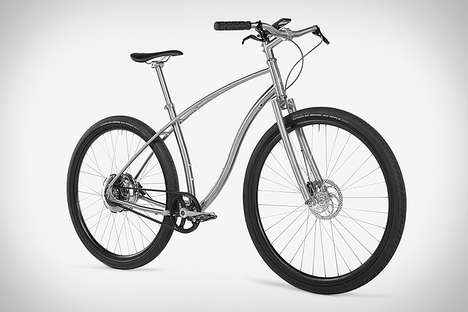 Discreet Electric Bikes - The Budnitz Model E Electric Titanium Bike is the World's Lightest