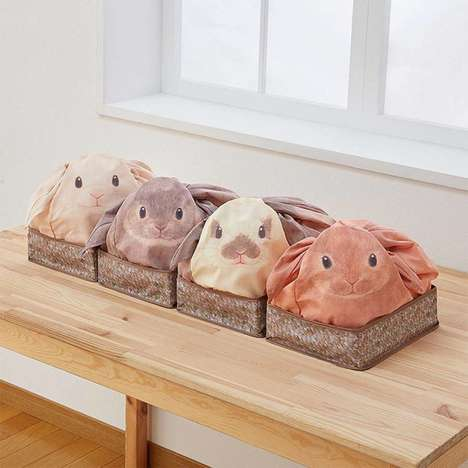 Rabbit-Shaped Storage Bags - These Bathroom Storage Containers are Great for Hiding Away Toiletries