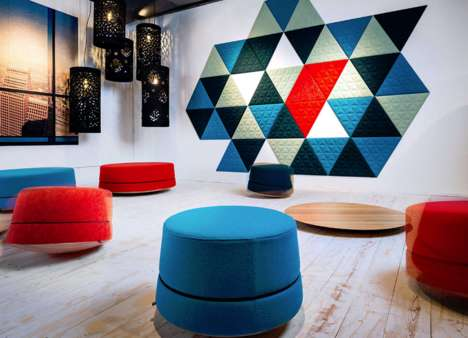 Rocking Work Seats - 'BuzziBalance' Creates Non-Traditional Environments in the Office