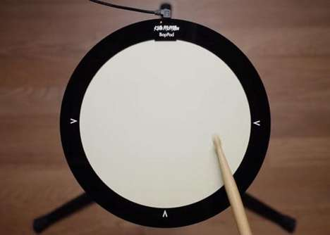 Smart Multi-Feature Drum Pads - The 'BopPad' Smart Drum Pad is for Drummers and Percussionists