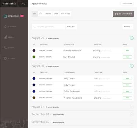 Niche Barbershop Software - The Squire Platform is Only for Barbershops and Their Customers