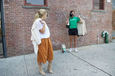 Personal Social Media Helpers - TaskRabbit's Offering 'Instagram Husbands' for New York Fashion Week