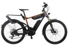 Boosted E-Bike Batteries - Bosch's New Double Battery Pack Offers Improved Charging and Riding