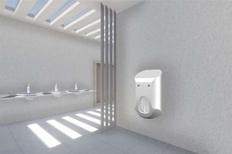 Soap-Dispensing Urinals - This Multi-Functional Urinal is Much More Hygienic Than Most