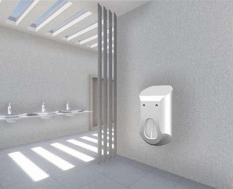 Soap-Dispensing Urinals