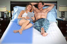 Mattress-Cooling Appliances - The 'Kryo' Mattress Topper Improves Sleep Quality and Much More