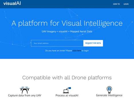 Drone Data-Converting Tools - 'visualAI' is a Science Tool that Helps Process Drone Camera Data