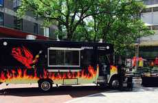 University-Branded Food Trucks - The Gryph 'N' Grille is the University of Guelph's New Food Truck