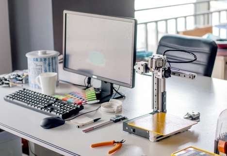 Open-Air 3D Desktop Printers - The 'Cetus3D' 3D Printer is Sized to Sit Next on Workstations