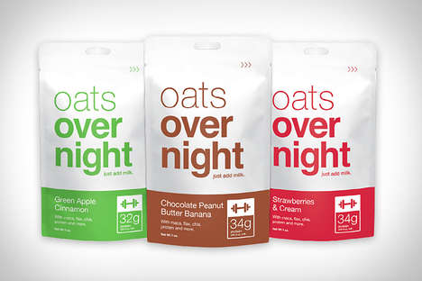 No-Heat Overnight Oats - This Nutritious Oats Require Very Little Effort to Make
