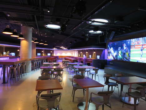 Sleek Campus Entertainment Venues - The Pit Pub is Situated in the UBC Nest Student Union Building