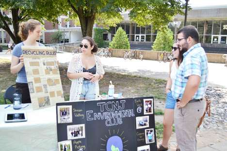 Eco Lifestyle Campus Clubs - The College of New Jersey Environmental Club is Education-Focused