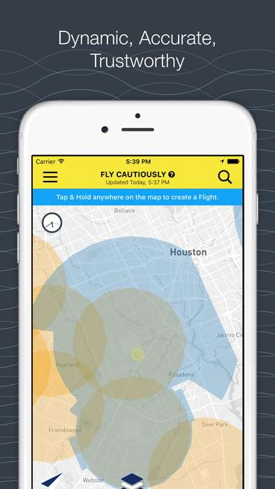 Aircraft Monitoring Maps - The AirMap App Helps Drone Pilots Avoid Manned Aircraft