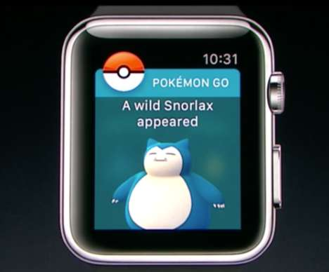 Smartwatch Anime Games - Pokemon Go Will Soon Be Playable on the Apple Watch
