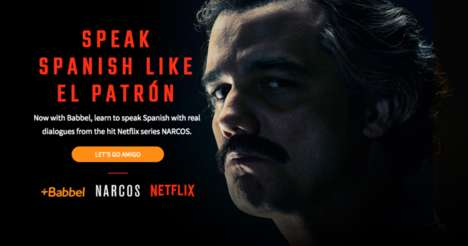 Kingpin Series Language Lessons - Babbel's 'Speak Spanish Like El Patron' Teaches with 'Narcos'