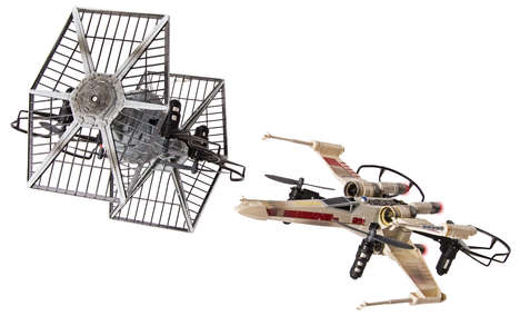 Fantasy Film Drone Toys - Spin Master's Star Wars-Themed Drones Let Kids Shoot Down the Death Star