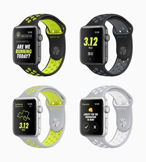 Runner-Targeted Smartwatches - The Apple Watch Nike+ Sport Smartwatch Reminds Wearers to Run