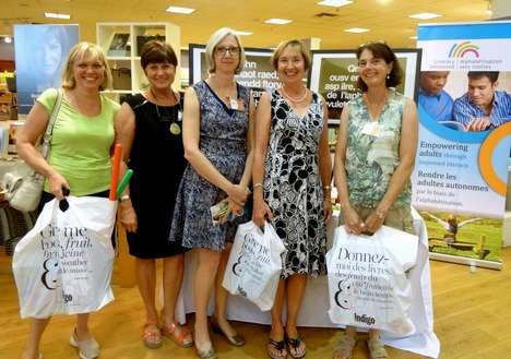 Literacy-Promoting Shopping Events - This International Literacy Day Event Supports a Good Cause