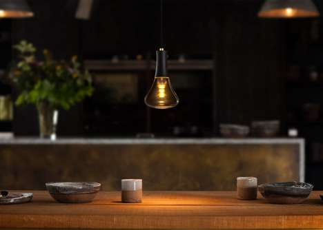 Appearance-Enhancing Bulbs - This Gold Light Bulb Creates and Ambient Glow When It is Turned on
