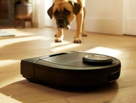 Affordable Smart Vacuums - The Neato Botvac D3 and D5 Feature a Low Price Point