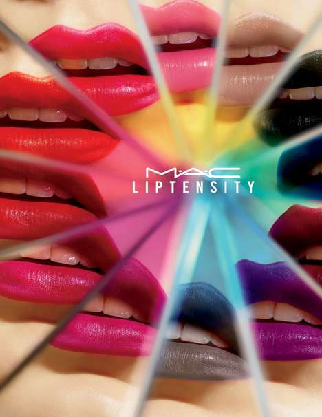 Rainbow-Hued Lipstick Collections - MAC's Liptensity Collection Features a Wide Selection of Shades