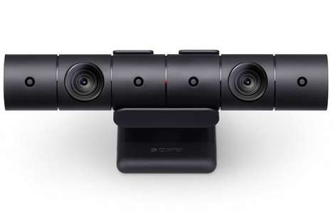 Cylindrical Game Console Cameras - The New PlayStation Camera Updates the Console's Capabilities