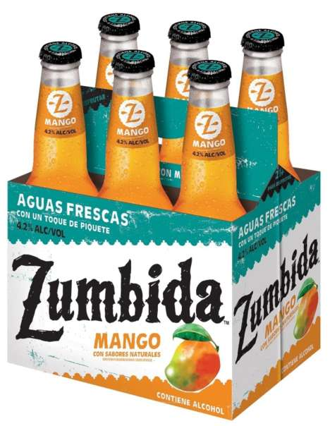Boozy Mexican-Style Juices - MillerCoors New Zumbida Drinks are Inspired by Aguas Frescas