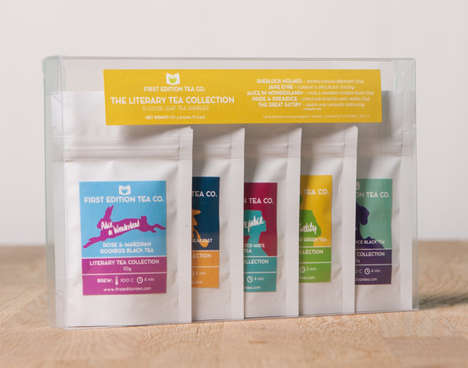 Literary Tea Packets - This Loose Leaf Tea Collection Takes Flavor Inspiration from Classic Books