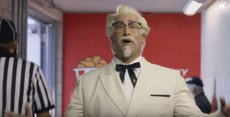 Fast Food Football Teams - The Kentucky Buckets is a Fictional Football Team Created by KFC