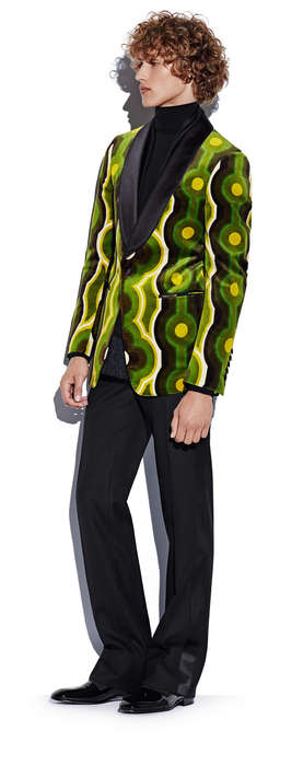 Disco-Inspired Menswear - This Tom Ford Collection Boasts Bold Prints, Vintage Cuts & Vibrant Colors