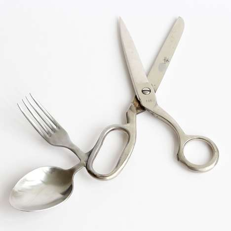 Eccentric Cutlery Designs - These Quirky Cutlery Pieces Forgo Designs Based Around Functionality