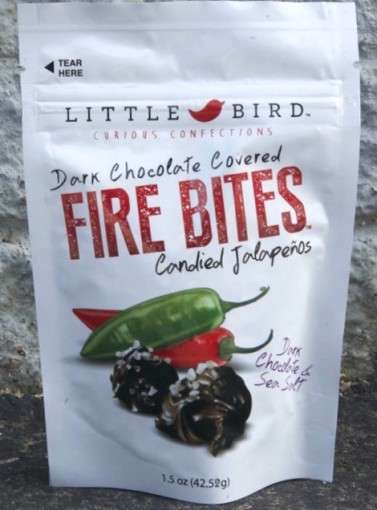 Chocolate-Covered Jalapeños - Little Bird's Fire Bites Add a Dose of Heat to Gourmet Chocolate