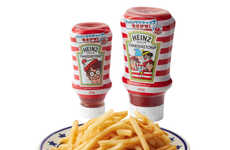 Search Book-Inspired Condiments - Heinz Ketchup is Featuring Waldo on Limited-Edition Packaging