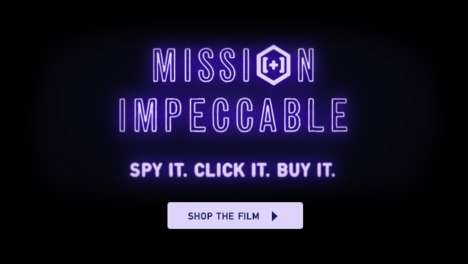 Shoppable Fashion Films - Ted Baker's 'Mission Impeccable' is an Interactive and Shoppable Video