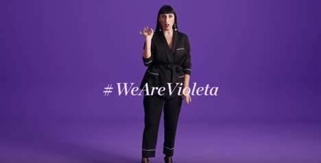 Inclusive Retail Campaigns - This Violeta by MANGO Initiative Sparks a Dialogue About Fashion