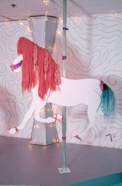 Carousel-Themed Beauty Exhibits - Refinery29's 'Hairousel' is Styled Like a Merry-Go-Round