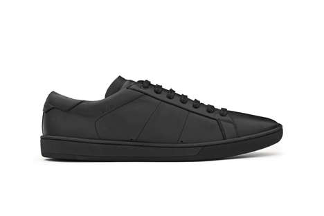 Luxe Understated Sneakers - These Saint Laurent Sneakers Boast One-Toned Colorways & Smooth Finishes