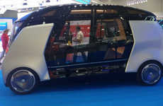 Self-Driving Shuttle Buses - The Yandex Bus is Expected to Hit the Road in 2017