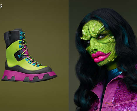 Humanized Footwear Editorials