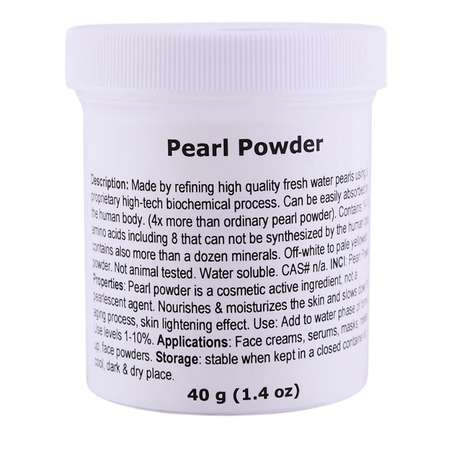 Powdered Pearl Cosmetics - This Product is a Remedy That Nourishes and Moisturizes Skin