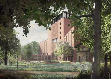 Modern Palatial Additions - Lambeth Palace is Getting Its First Addition in Nearly 200 Years