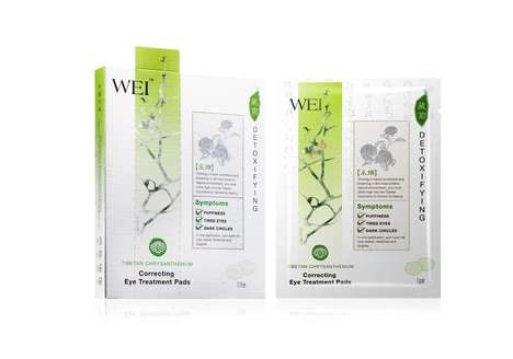 Herb-Soaked Eye Pads - Wei's Product Uses Chrysanthemum That Was Bloomed in the Tibetan Mountains
