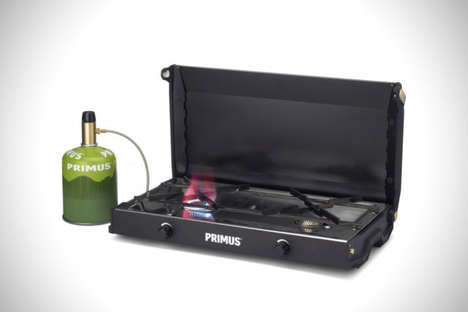 Slender Portable Stoves - The Primus Kinjia Grill Top is Designed to Cook Food While On-the-Go